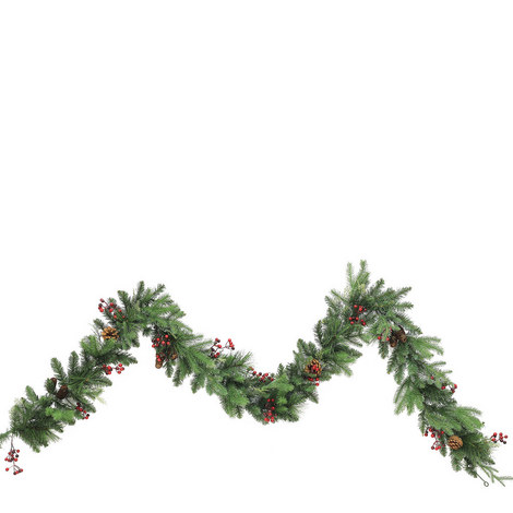 Forest Mix Garland 9ft, ${color}