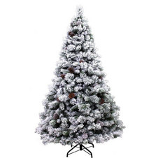 Fairfield Flocked Christmas Tree 7.5ft