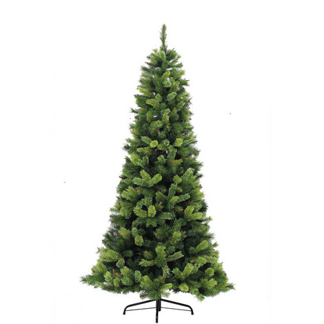 Slim Hampton Pine Tree 7.5ft, ${color}