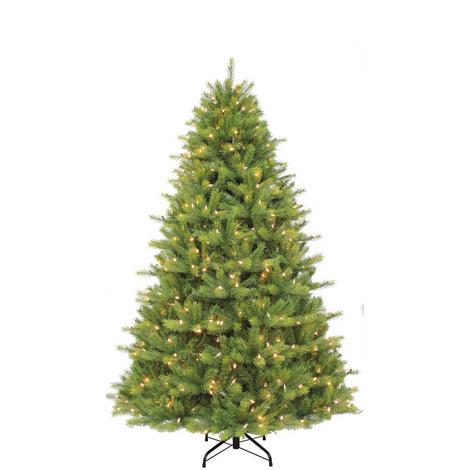 Prelit Islington Fir Tree 7.5ft, ${color}