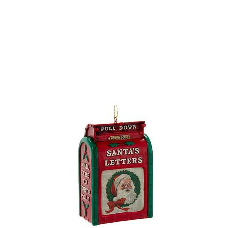 Santa's Mailbox Hanging Decoration, ${color}