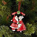 Kissing Claus Ornament, ${color}