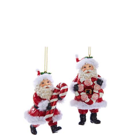 Candy Santa Hanging Decorations, ${color}
