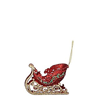 Sleigh Hanging Decoration