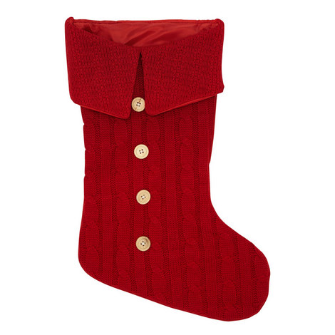 Cable Knit Stocking, ${color}