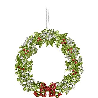 Acrylic Wreath Ornament