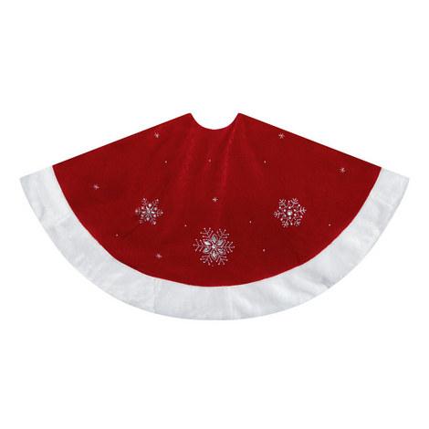 Sequin Embellished Tree Skirt, ${color}