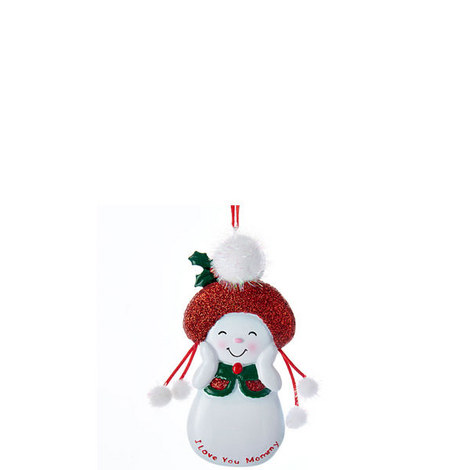 Love You Mommy Snowman, ${color}
