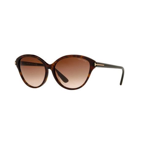 Cat Eye Sunglasses FT0342 56F, ${color}