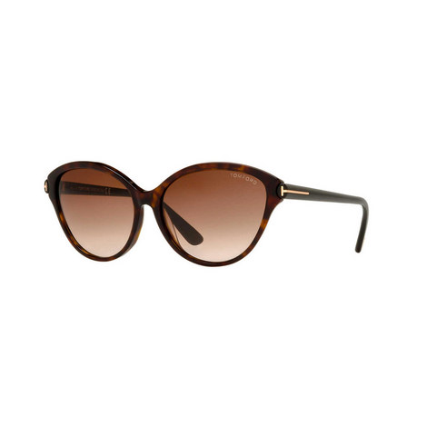 Cat Eye Sunglasses FT0342 56F, ${color}