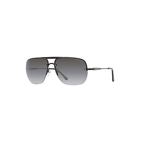 Rectangle Sunglasses FT0380, ${color}