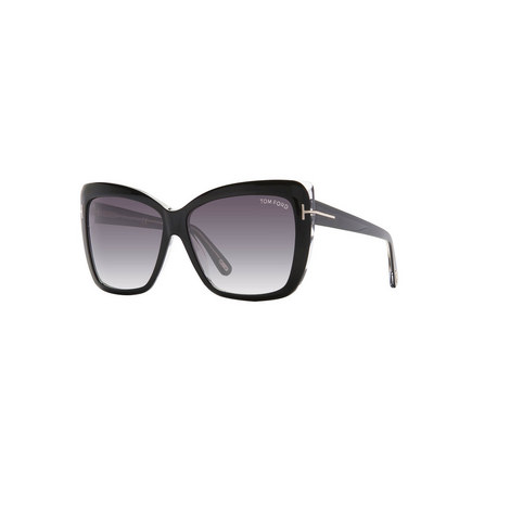 Rectangle Sunglasses FT0390, ${color}