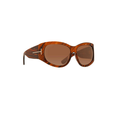 Oversized Sunglasses FT0404, ${color}