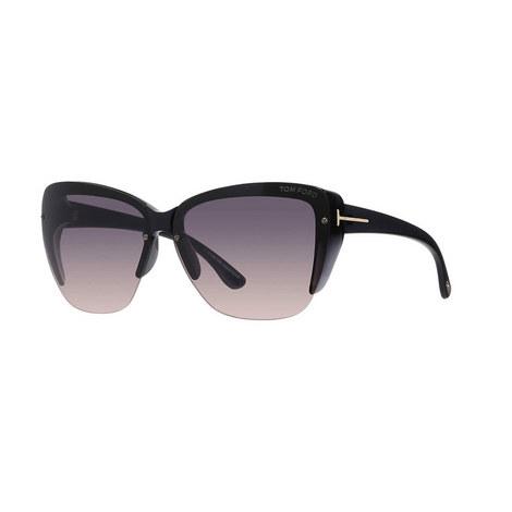 Poppy Cat Eye Sunglasses FT0457, ${color}