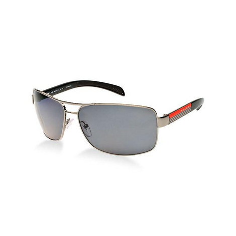 Lifestyle Rectangle Sunglasses Polarised 54IS, ${color}