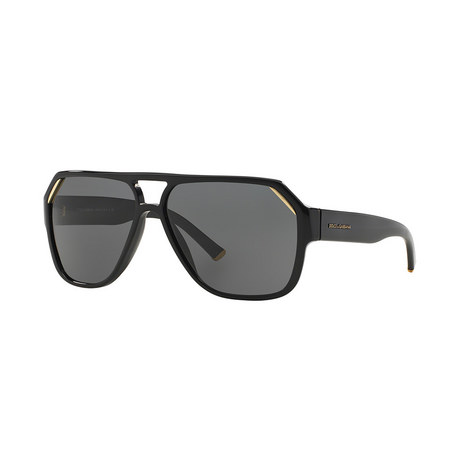 Irregular Aviator Sunglasses, ${color}