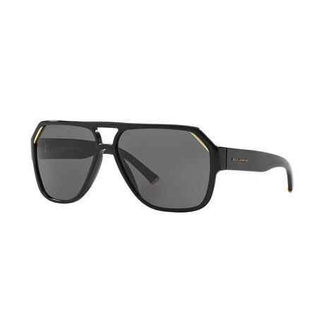 Irregular Aviator Sunglasses, ${color}