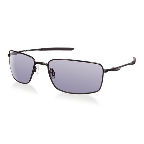 Iconic Polished Rectangle Sunglasses OO40754, ${color}