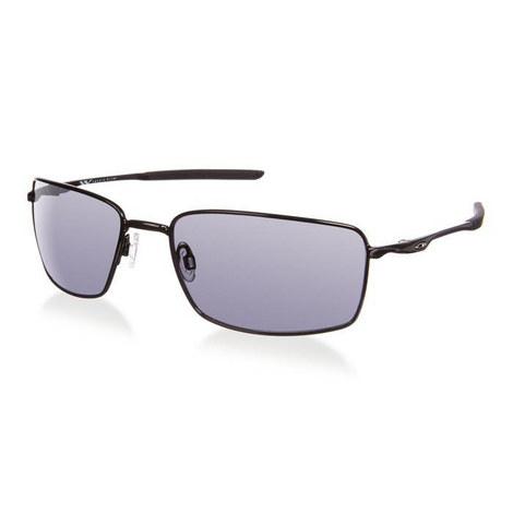 Iconic Polished Rectangle Sunglasses OO40754, ${color}
