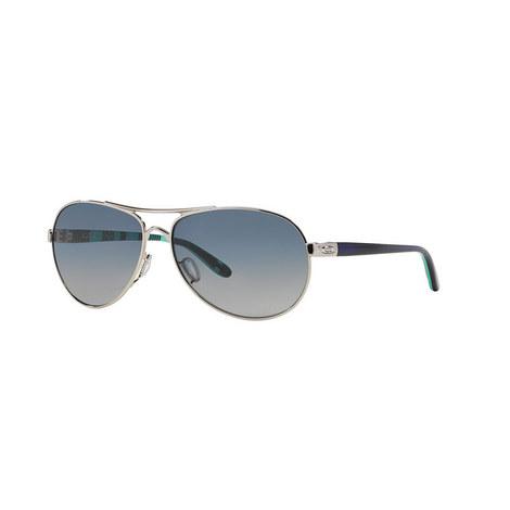 Active Chrome Pilot Sunglasses OO40794 Polarised, ${color}