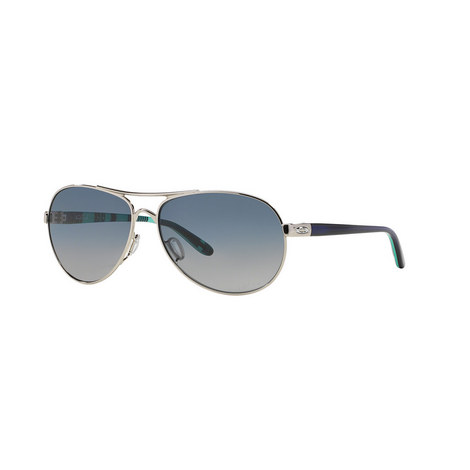 Active Chrome Pilot Sunglasses OO40794 Polarised, ${color}