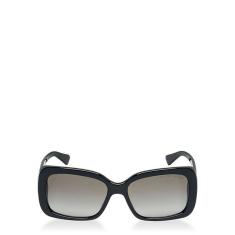 Plaque Rectangle Sunglasses RL80925, ${color}