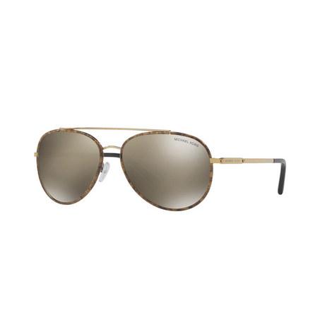 Ida Aviator Sunglasses MK1019, ${color}