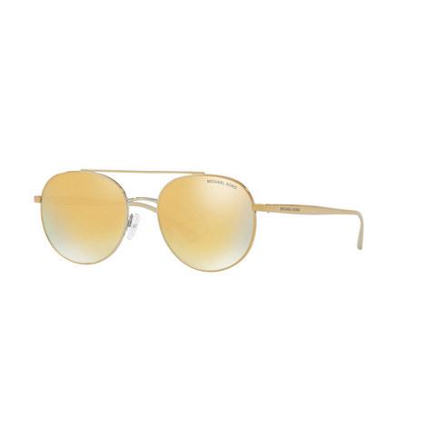 Lon Aviator Sunglasses MK1021, ${color}