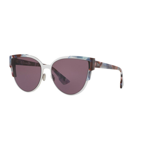 Wildly 60 Cat Eye Sunglasses, ${color}