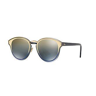 DiorNightFall Round Sunglasses