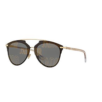 J'Adior DiorReflected Aviator Sunglasses