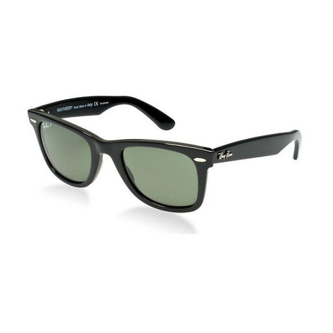 Unisex Square Wayfarer Sunglasses RB214090158 Polarised, ${color}
