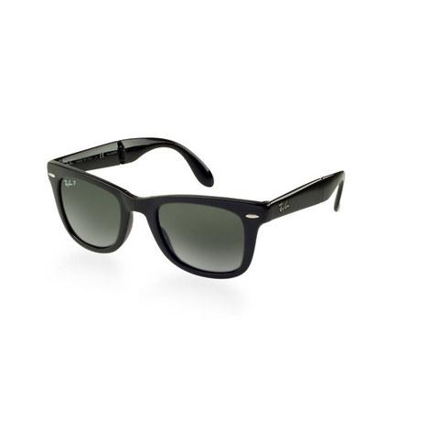 Square Wayfarer Sunglasses RB41056 Polarised, ${color}