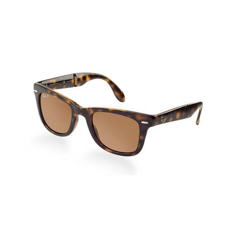 Icons Square Wayfarer Sunglasses RB41057 Polarised, ${color}