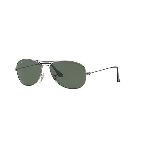 Highstreet Aviator Sunglasses RB33620 Polarised, ${color}