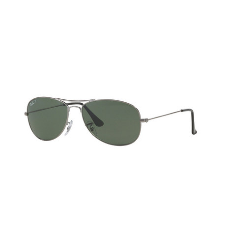 Highstreet Aviator Sunglasses RB33620 Polarised, ${color}