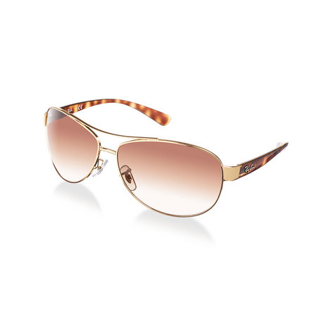 Active Lifestyle Aviator Sunglasses RB33860, ${color}