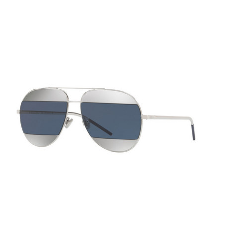 Diorama Split1 Aviator Sunglasses, ${color}