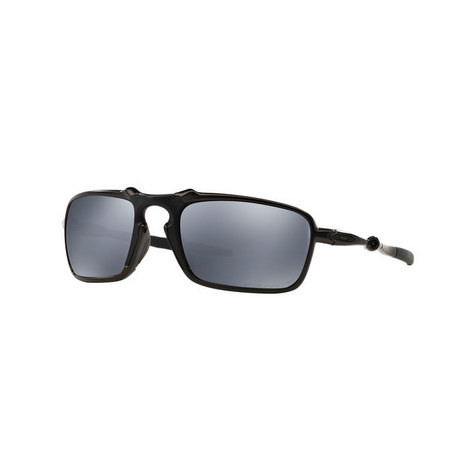 Badman Rectangle Sunglasses OO6020 Polarised, ${color}