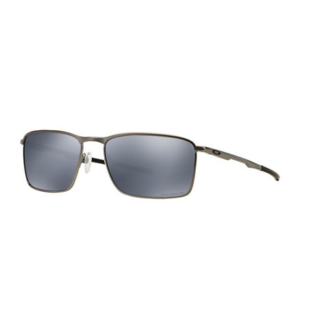 Conductor Rectangle Sunglasses OO4106 Polarised, ${color}