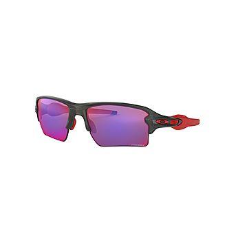 Rectangular Sunglasses OO9188 FLAK 59