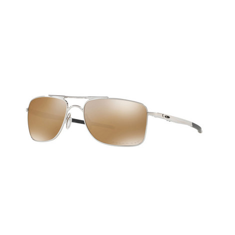 Gauge Rectangle Sunglasses OO4124, ${color}