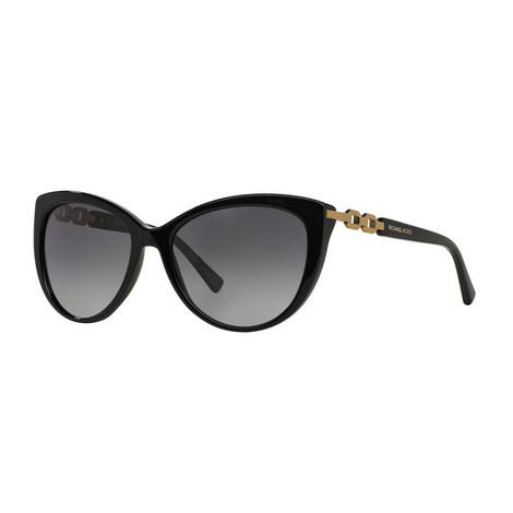 Gstaad Cat Eye Sunglasses MK2009 Polarised, ${color}