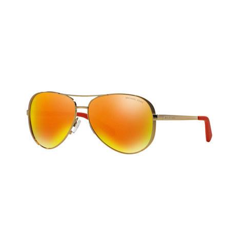 Chelsea Aviator Sunglasses MK5004, ${color}