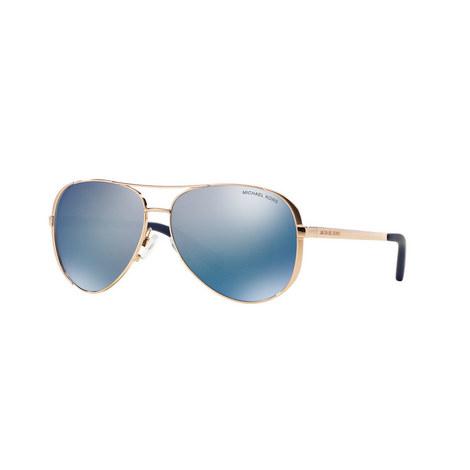 Chelsea Aviator Sunglasses MK5004 Polarised, ${color}