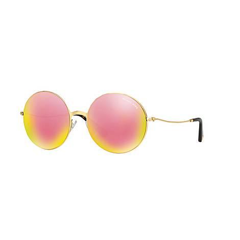 Kendal II Aviator Sunglasses MK5017, ${color}