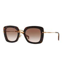 Noir Square Sunglasses 0MU 07OS
