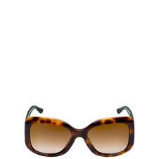 Timeless Elegance Square Sunglasses AR80025