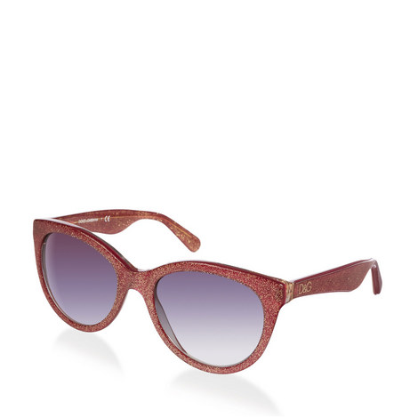 Glitter Cat Eye Sunglasses DG4192, ${color}
