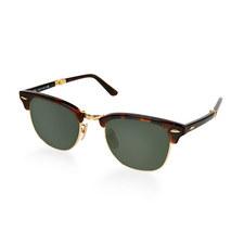 Havana Clubmaster Sunglasses 0RB2176